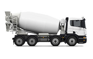 8 Wheeler Concrete Mixer